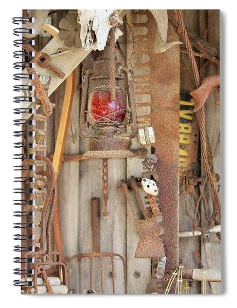 Rusty Treasures Photograph Spiral Notebook