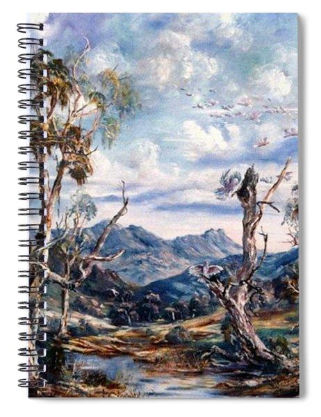 Rwetyepme, Mount Sonda Central Australia Spiral Notebook