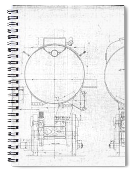 S-1a Cross Sections Spiral Notebook