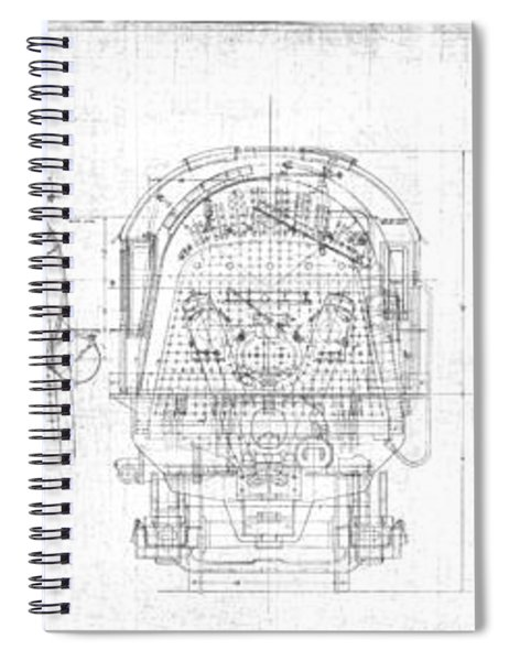S-1a Cross Sections Spiral Notebook
