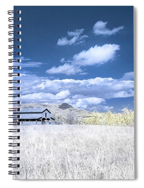 S C Upstate Barn Faux Color Spiral Notebook