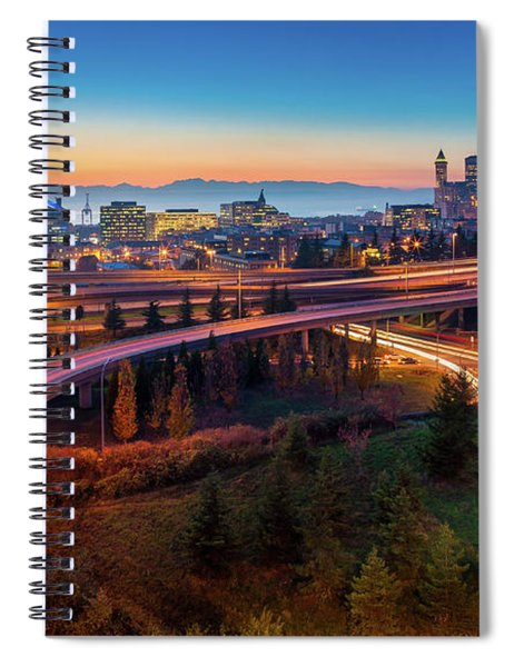 S For Seattle Spiral Notebook