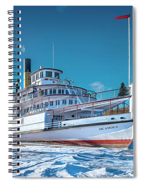 S. S. Sicamous Spiral Notebook
