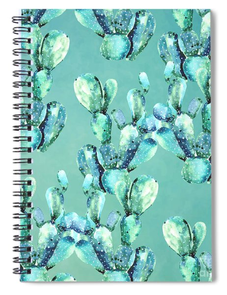 Sabers Tropical  Spiral Notebook