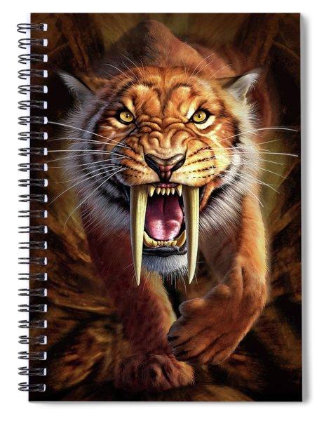 Sabertooth Spiral Notebook