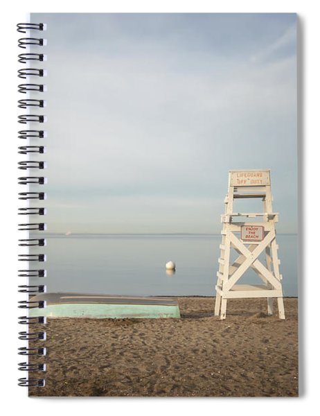 Sasco Beach Life Guard Chair Spiral Notebook
