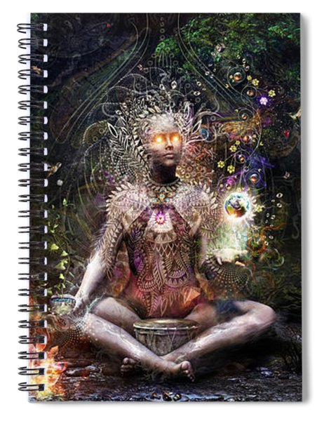 Sacrament For The Sacred Dreamers Spiral Notebook