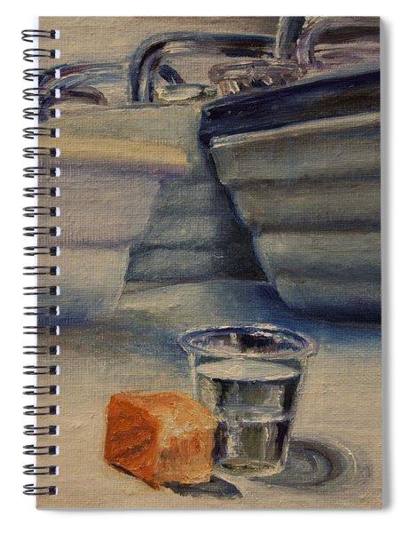 Sacrament Spiral Notebook