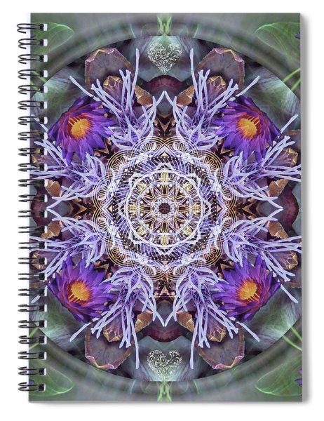 Sacred Emergence Spiral Notebook