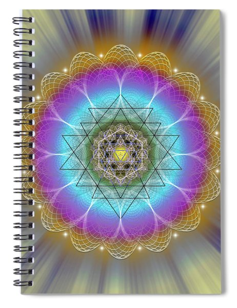 Sacred Geometry 686 Spiral Notebook
