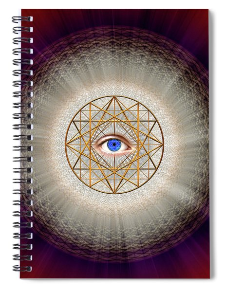 Sacred Geometry 688 Spiral Notebook