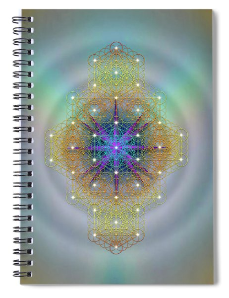 Sacred Geometry 694 Spiral Notebook