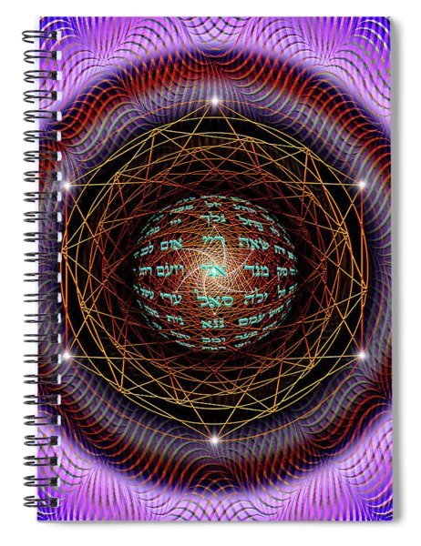 Sacred Geometry 697 Spiral Notebook
