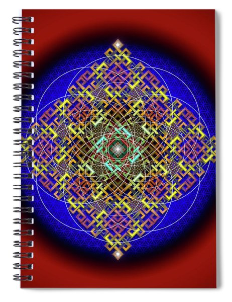 Sacred Geometry 698 Spiral Notebook