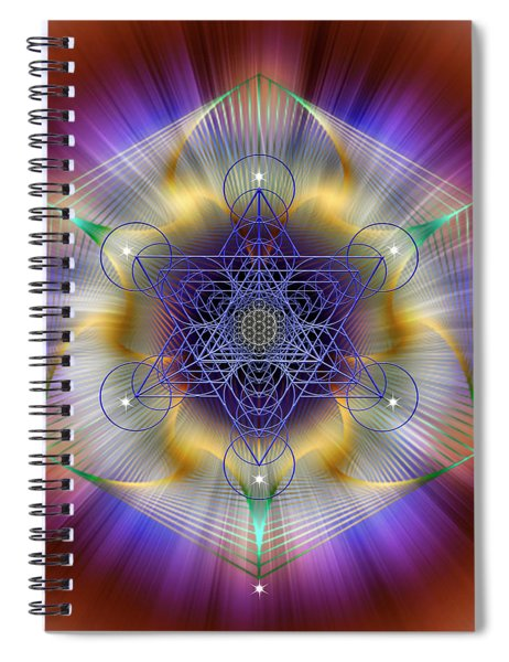 Sacred Geometry 699 Spiral Notebook