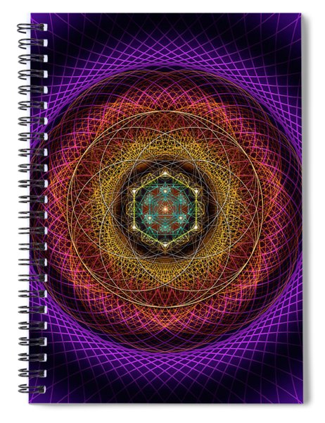 Sacred Geometry 700 Spiral Notebook