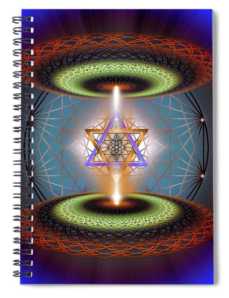 Sacred Geometry 718 Spiral Notebook