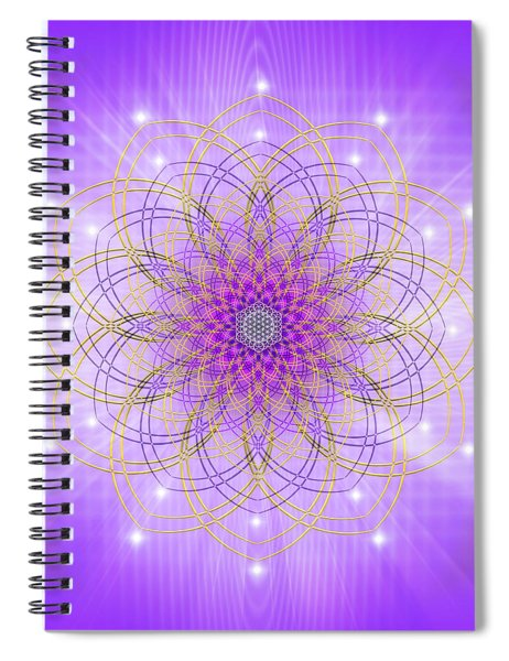 Sacred Geometry 721 Spiral Notebook