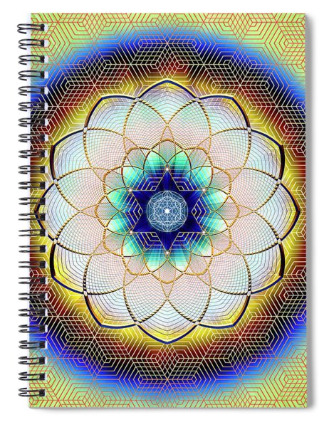 Sacred Geometry 723 Spiral Notebook