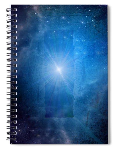 Sacred Realms Spiral Notebook