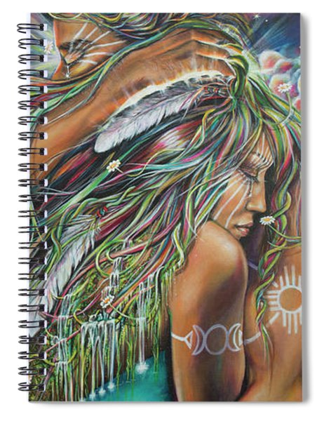 Sacred Union Spiral Notebook