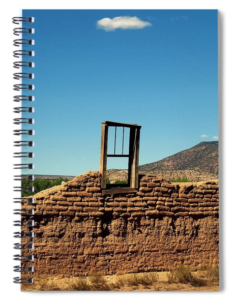 Sacred Window Spiral Notebook