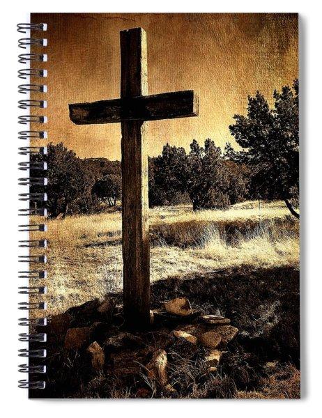 Sacrificio De La Cruz Spiral Notebook