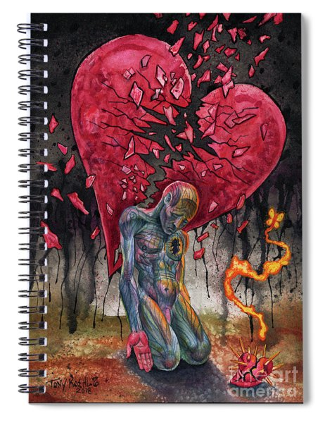 Sad To Know Spiral Notebook