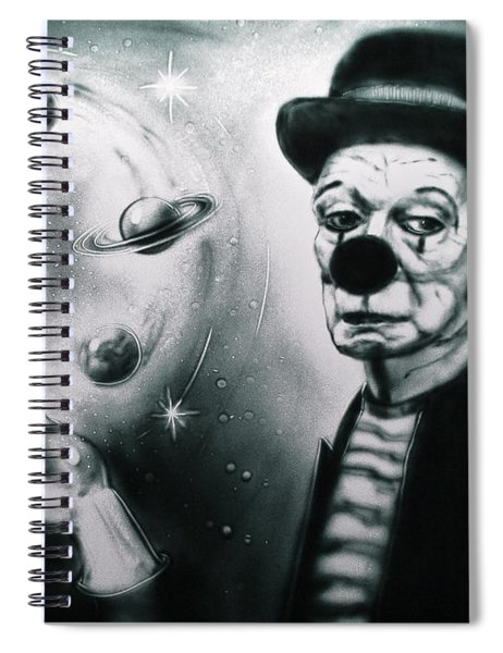 Sadness Of Creator Spiral Notebook