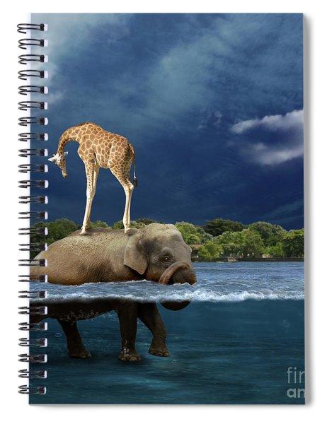Safe Spiral Notebook