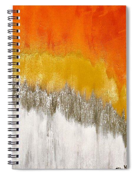 Saffron Sunrise Spiral Notebook