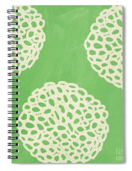 Sage Garden Bloom Spiral Notebook