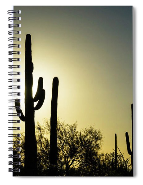 Saguaro Spiral Notebook