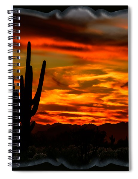 Saguaro Sunset H51 Spiral Notebook