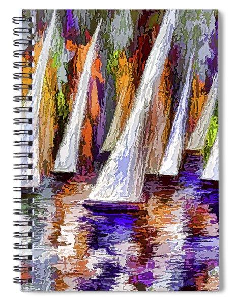 Sail Away Spiral Notebook