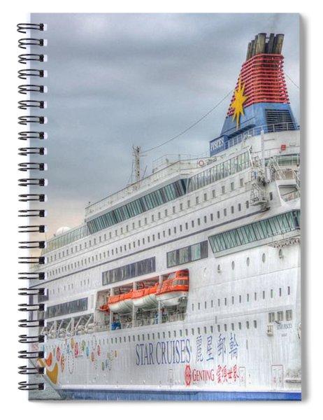 Sail Away Hong Kong Spiral Notebook