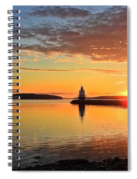 Sail Into The Sunrise Spiral Notebook