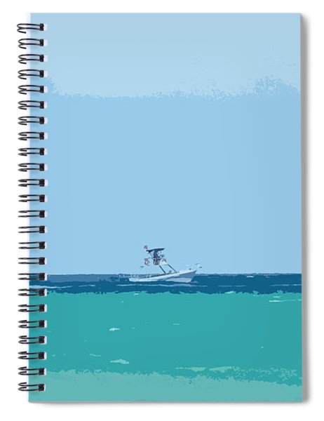 Sail The Tranquil Sea Spiral Notebook