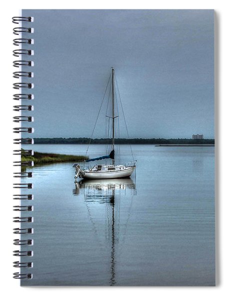 Sailboat Off Plash Spiral Notebook