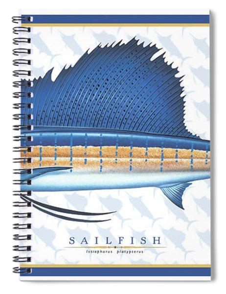 Sailfish Id Spiral Notebook