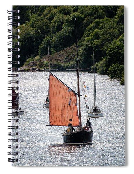 Sailing 46 Spiral Notebook