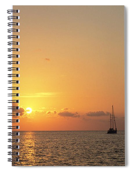 Crusing The Bahamas Spiral Notebook