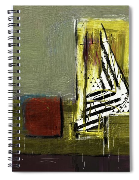 Sailing In Dreams Spiral Notebook