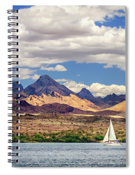 Sailing In Havasu Spiral Notebook