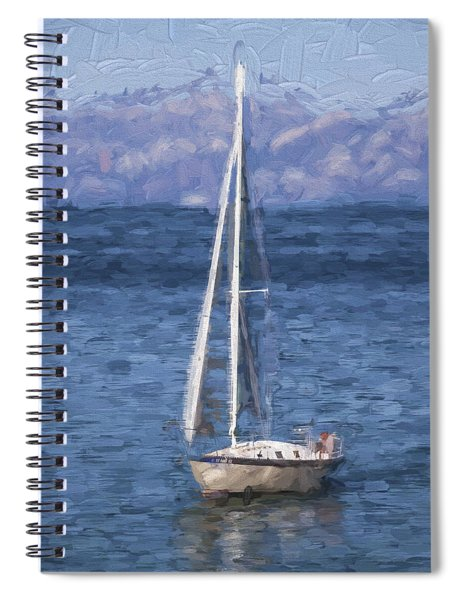 Sailing Lake Tahoe Spiral Notebook