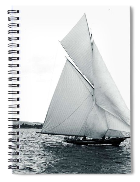 Sailing On The Harbour, Unattributed Studio, Sydney, Australia, C. 1880-1923 Spiral Notebook