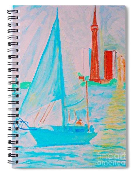 Sailing Toronto, Canada Spiral Notebook