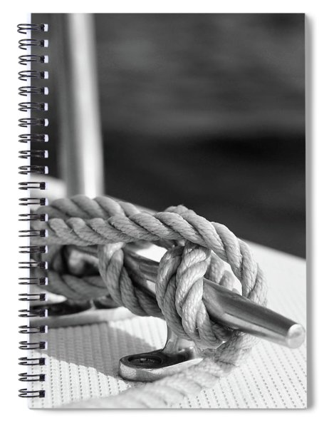 Sailor's Knot Square Spiral Notebook