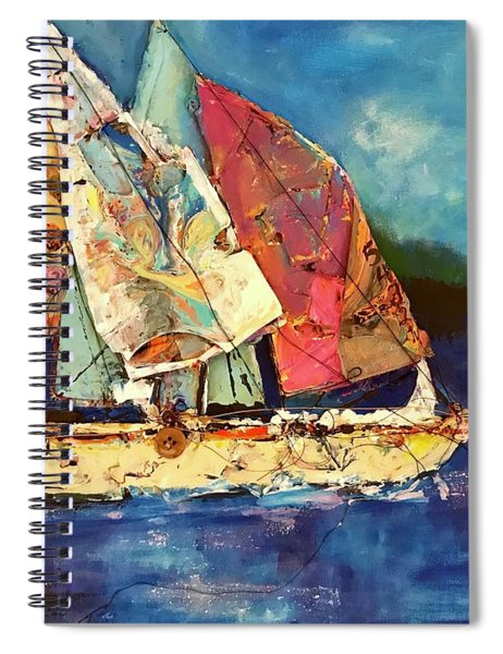 Sails Away Spiral Notebook