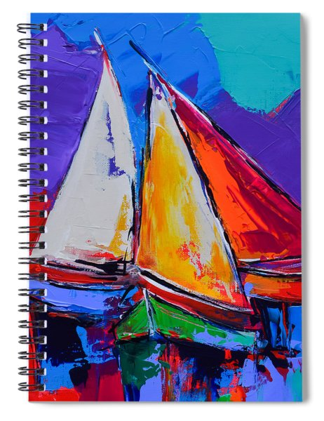 Sails Colors Spiral Notebook